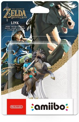 amiibo The Legend of Zelda: Breath of the Wild Link Rider