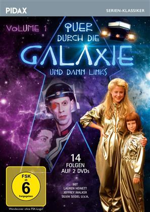 Quer durch die Galaxie und dann links - Vol. 1 (Pidax Serien-Klassiker, 2 DVDs)