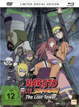 Naruto Shippuden - The Movie - The Lost Tower (2010) (Limited Special Edition, Mediabook, Blu-ray + DVD)