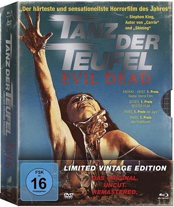 Tanz der Teufel (1981) (Limited Vintage Edition, Remastered, Uncut, 3 Blu-rays + DVD)
