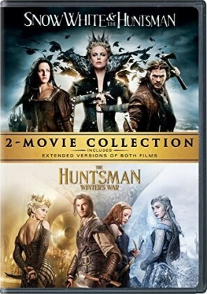Snow White And The Huntsman / The Huntsman: Winter's War (2-Movie Collection, Extended Version, 2 DVD)