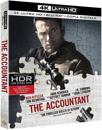 The Accountant (2016) (4K Ultra HD + Blu-ray)