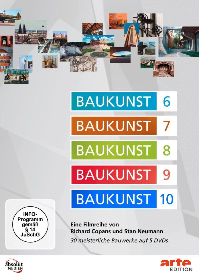 Baukunst - Teile 6-10 (Arte Edition, 5 DVDs)