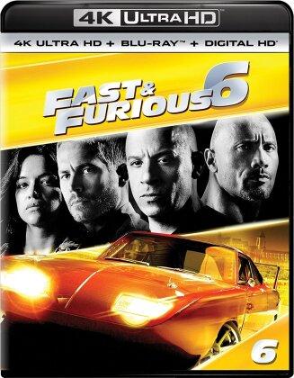 Fast & Furious 6 (2013) (4K Ultra HD + Blu-ray)