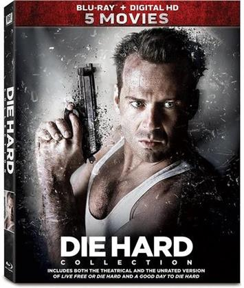 Die Hard Collection - 5 Movies (5 Blu-rays)