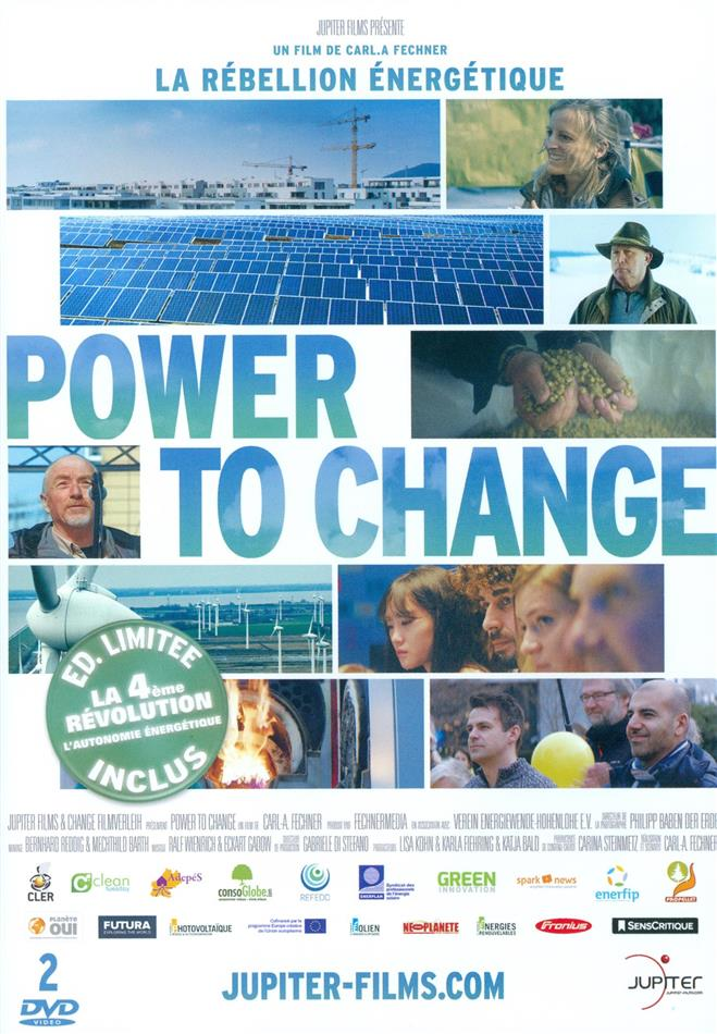 Power To Change - La Rébellion Énergétique (2016) (Limited Edition, 2 DVDs)