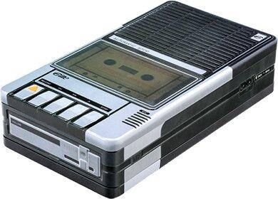 """Vintage Audio - Blechdose """"Cassette Recorder"""""""