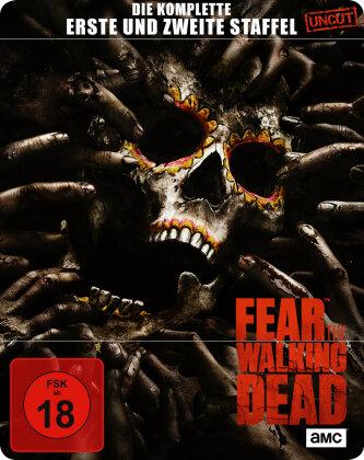 Fear the Walking Dead - Staffel 1 + 2 (Limited Steelbook, Uncut, 6 Blu-rays)
