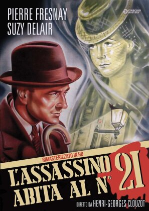 L'assassino abita al 21 (1942) (Cineclub Mistery, n/b, Versione Rimasterizzata)