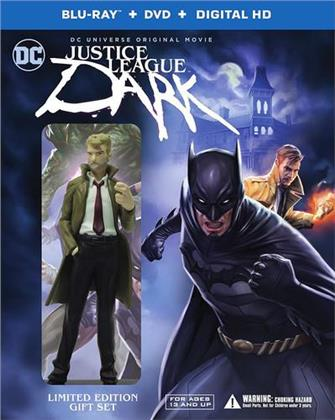Justice League Dark (2017) (mit Figur, Limited Deluxe Edition, Blu-ray + DVD)