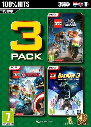LEGO Box - Jurassic World + Marvel Avengers + Batman 3