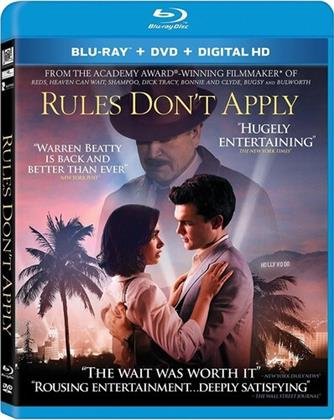 Rules Don't Apply (2016) (Blu-ray + DVD)