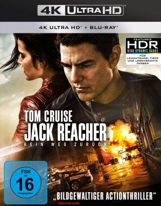 Jack Reacher 2 - Kein Weg zurück (2016) (4K Ultra HD + Blu-ray)