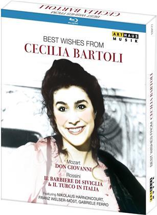 Cecilia Bartoli - Best Wishes Form Cecilia Bartoli (Arthaus Musik, Euro Arts, 3 Blu-rays)