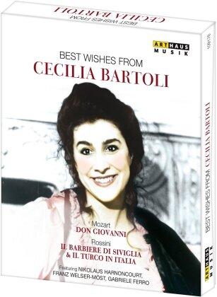 Cecilia Bartoli - Best Wishes Form Cecilia Bartoli (Arthaus Musik, Euro Arts, 3 DVDs)