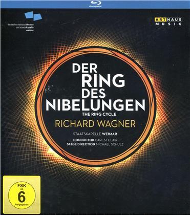 Staatskapelle Weimar, Nationaltheater Weimar, … - Wagner - Der Ring des Nibelungen (Arthaus Musik, 4 Blu-rays)