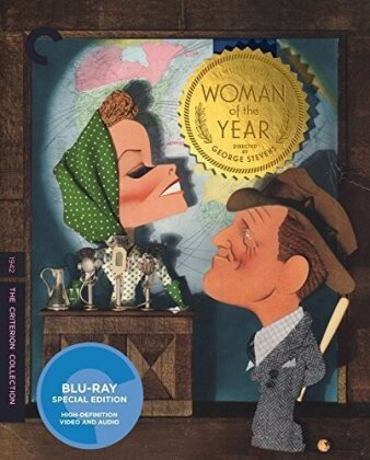 Criterion Collection - Woman Of The Year (1942) (Restaurierte Fassung, Special Edition, Widescreen)