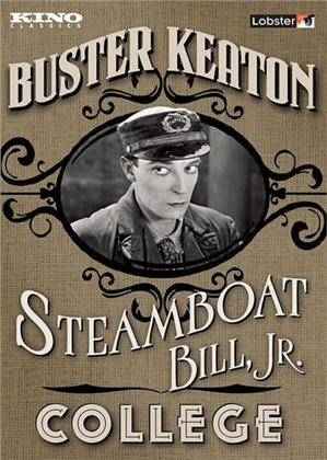 Steamboat Bill, Jr. / College (s/w, 2 DVDs)