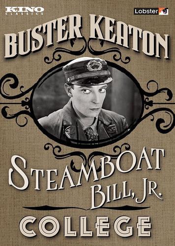 Steamboat Bill, Jr. / College (s/w, 2 DVDs)