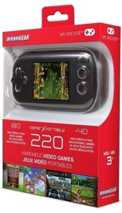 My Arcade Gamer X Portable Handheld Gaming System - (220 Games)