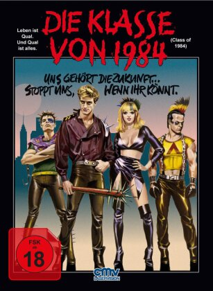 Die Klasse von 1984 (1982) (Mediabook, Blu-ray + DVD)