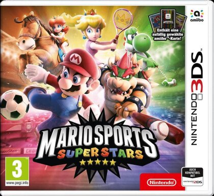 Mario Sports Superstars + amiibo-Carte