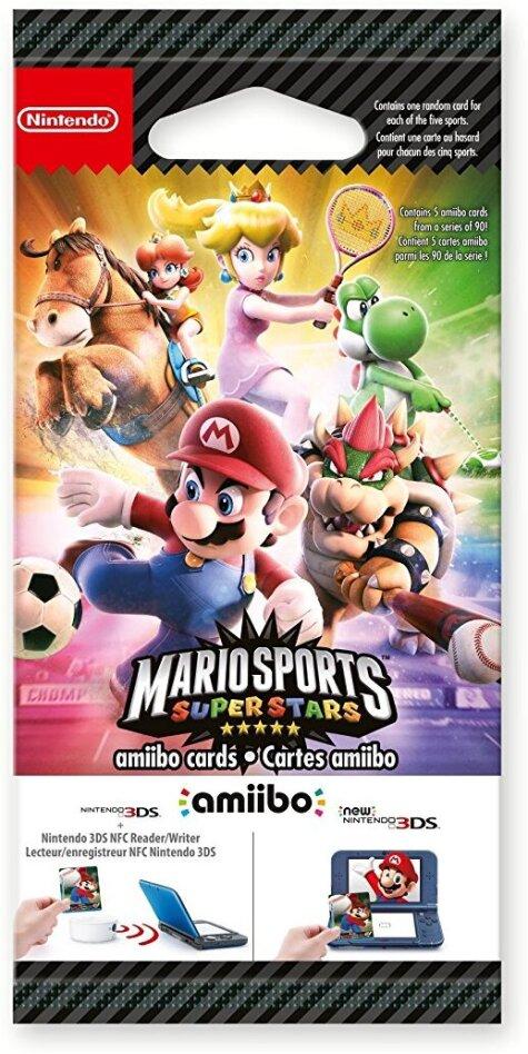 amiibo-Karten Mario Sports Superstars - (5 Stück)