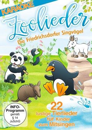 Die Friedrichsdorfer Singvögel - Zoolieder - 22 lustige Tierlieder für Kinder zum Mitsingen