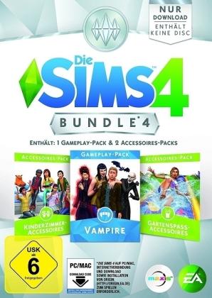 Die Sims 4 ADDON Bundle Pack 4 - Kinderzimmer/Vampire/Gartenspaß