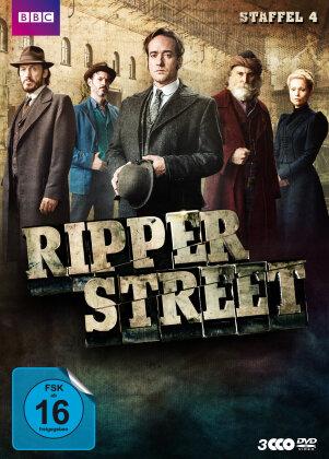Ripper Street - Staffel 4 (BBC, Uncut, 3 DVDs)