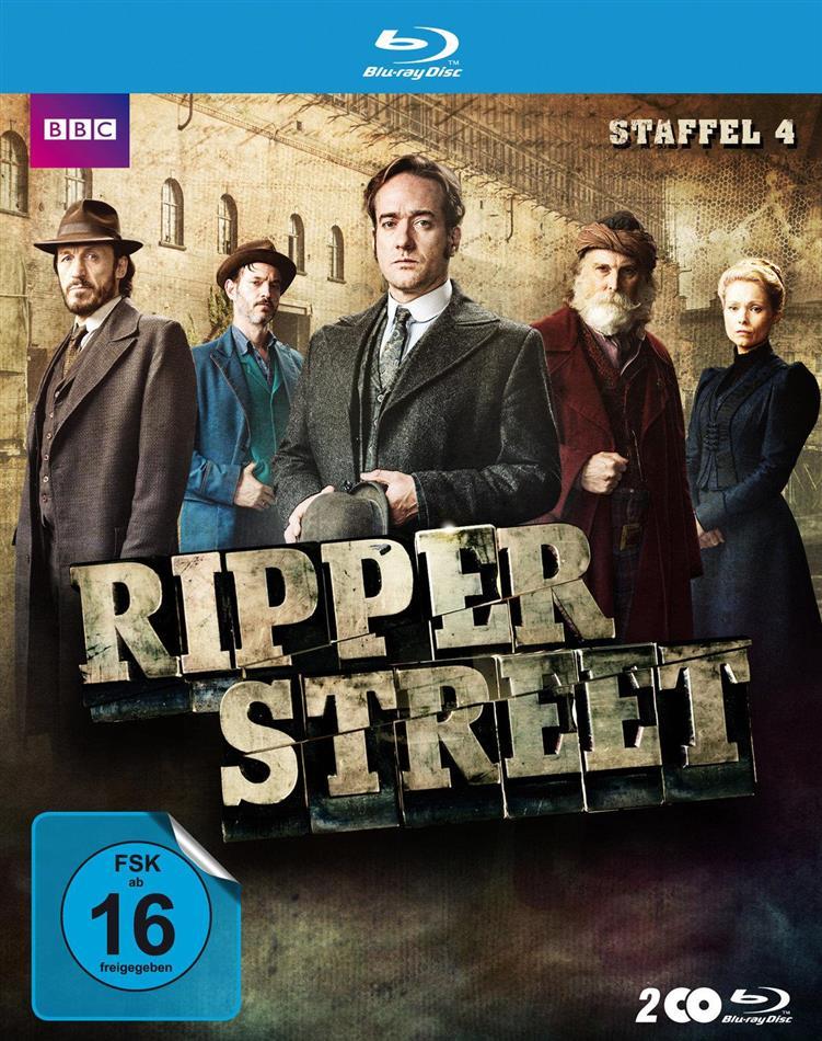 Ripper Street - Staffel 4 (BBC, Uncut, 2 Blu-rays)