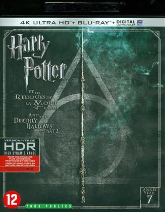 Harry Potter et les reliques de la mort - Partie 2 - Harry Potter and the Deathly Hallows - Part 2 (2011) (4K Ultra HD + Blu-ray)