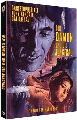 Der Dämon und die Jungfrau (1963) (Cover C, Limited Collector's Edition, Mediabook, Uncut, Blu-ray + 2 DVDs)