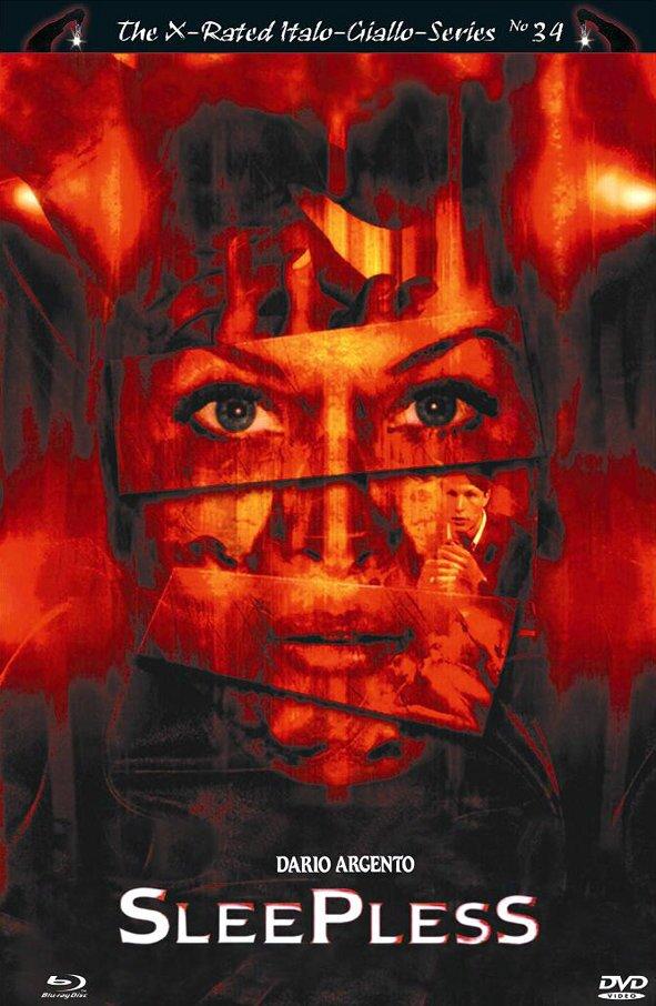 Sleepless (2001) (Grosse Hartbox, Uncut, Blu-ray + DVD)