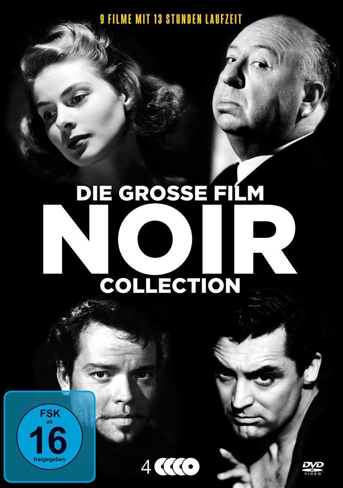Die grosse Film Noir Collection (s/w, Remastered, 4 DVDs)