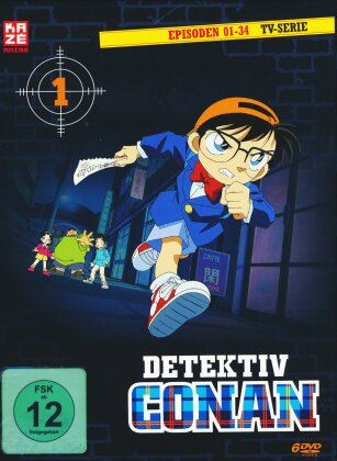 Detektiv Conan - Box 1 (6 DVDs)
