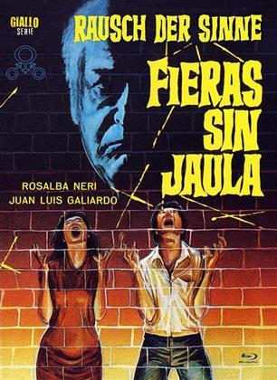 Rausch der Sinne - Fieras sin jaula (1971) (Cover A, Eurocult Collection, Limited Edition, Mediabook, Uncut, Blu-ray + 2 DVDs)