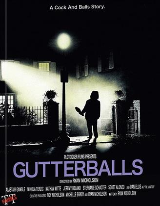 Gutterballs (2008) (Cover A, Edizione Limitata, Mediabook, Unrated, Blu-ray + DVD)