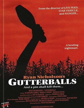 Gutterballs (2008) (Cover C, Mediabook, Blu-ray + DVD)