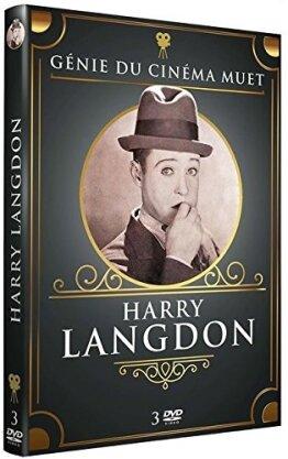 Harry Langdon - génie du cinéma muet (s/w, 3 DVDs)