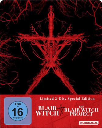 Blair Witch (2016) / The Blair Witch Project (1999) (Limited Special Edition, Steelbook, 2 Blu-rays)
