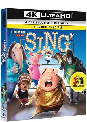 Sing (2016) (Special Edition, 4K Ultra HD + Blu-ray)