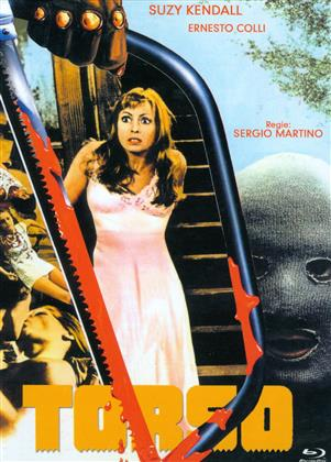 Torso (1973) (Cover C, Eurocult Collection, Limited Edition, Mediabook, Uncut, Blu-ray + DVD)