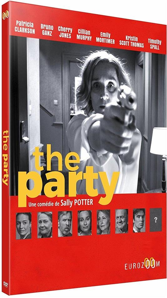 The Party (2017) (s/w, Digibook)