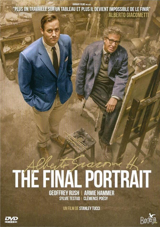 Alberto Giacometti - The Final Portrait (2017) (Digibook)