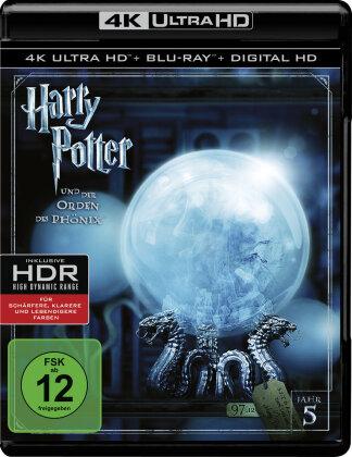 Harry Potter und der Orden des Phönix (2007) (4K Ultra HD + Blu-ray)