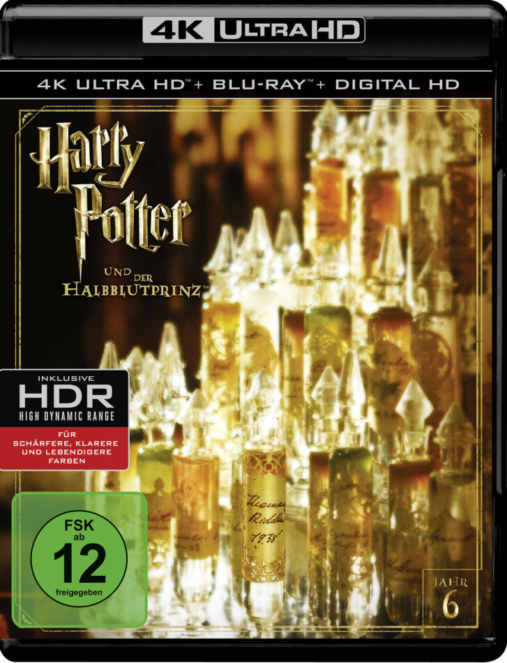 Harry Potter und der Halbblutprinz (2009) (4K Ultra HD + Blu-ray)