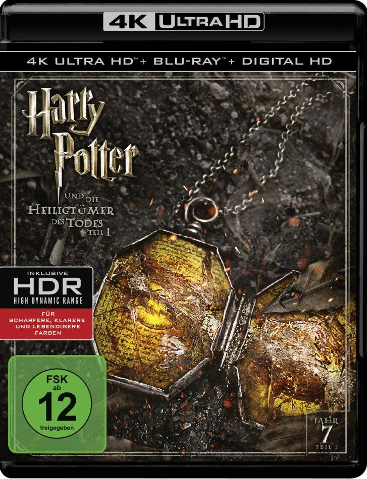 Harry Potter und die Heiligtümer des Todes - Teil 1 (2010) (4K Ultra HD + Blu-ray)