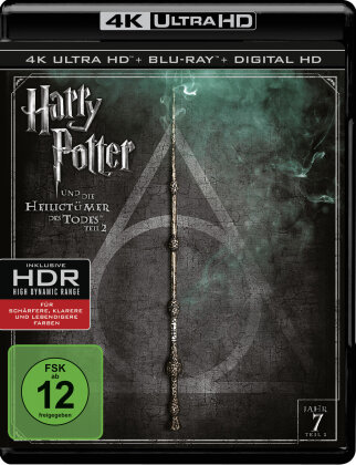 Harry Potter und die Heiligtümer des Todes - Teil 2 (2011) (4K Ultra HD + Blu-ray)
