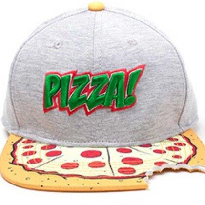 Teenage Mutant Ninja Turtle - Pizza Snapback with Cut Out